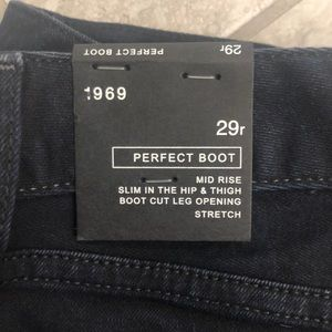Gap dark perfect boot jeans 29r new with tags